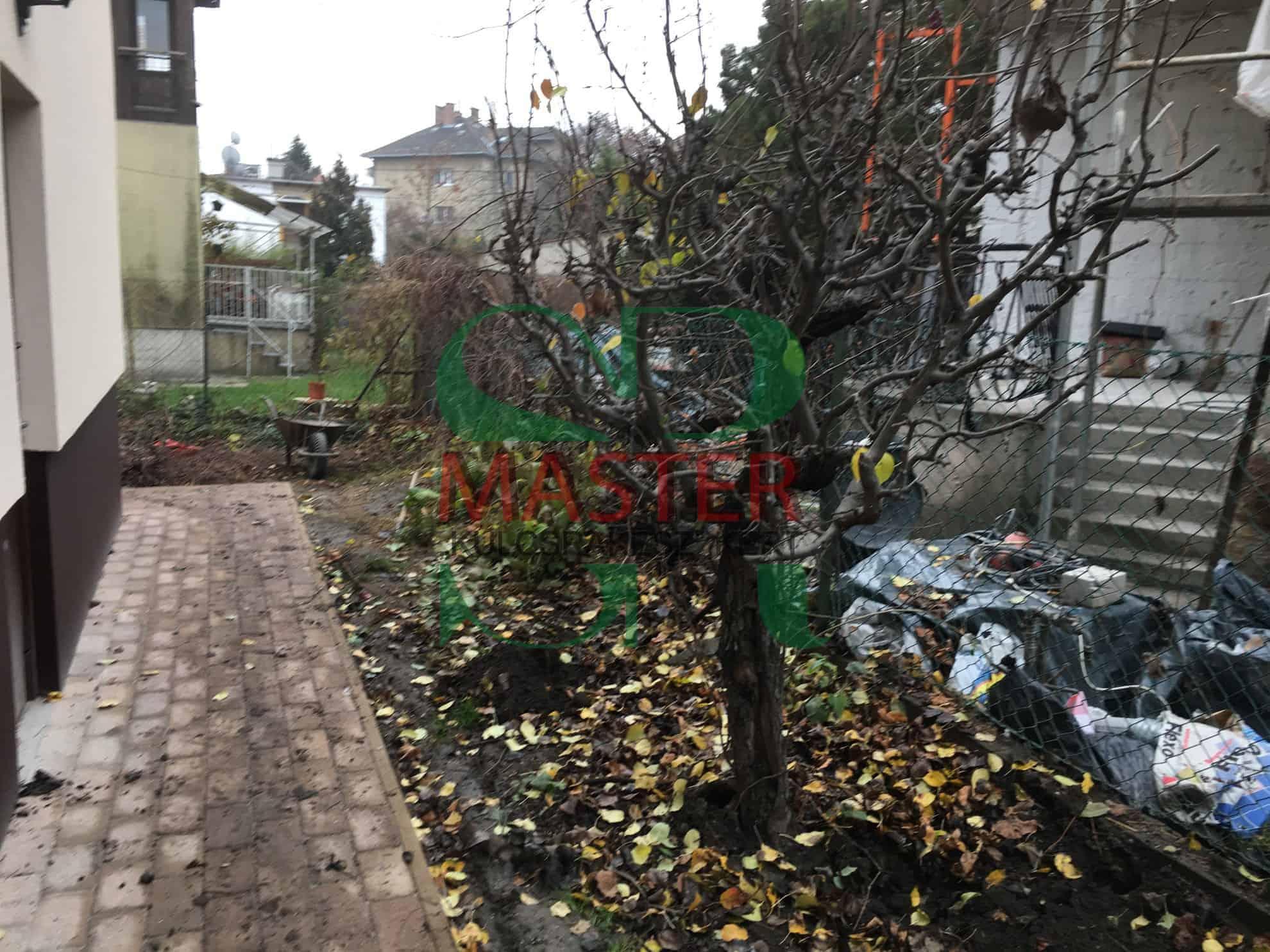 Budapest zuglói kis kert